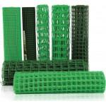 Сетка садовая пластмассовая 1,5м*10м 55*55 зелен (Мегаспан)