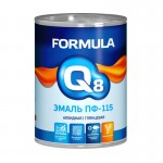 Эмаль ПФ-115 белая 0,9кг/14шт FORMULA Q8