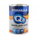 Эмаль ПФ-266 желто-коричневая 0,9кг/14шт FORMULA Q8