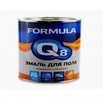 Эмаль ПФ-266 желто-коричневая 2,7кг/6шт FORMULA Q8