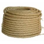 Веревка льняная д.12мм / 100м (1кг=12м)