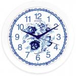 Часы настенные круглые Energy EC-102 Гжель 27,5*3,8см