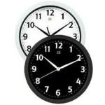 Часы настенные IRIT IR-610 Черное и белое 25см