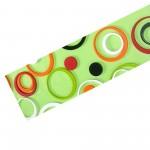Пленка с/м COLOR Круги цветн. зел. фон 7074-2 8м
