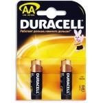 Батарейка Duracel 1500/LR6 бл 2 шт (пальчики)