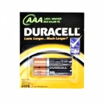 Батарейка Duracel 1500/LR03  бл 2 шт (мизинчики)