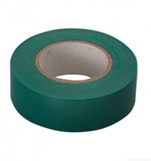 Изолента ПВХ зеленая 15мм*10м 88791
