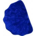 Коврик для ванной 50*70 см ракушка синий
