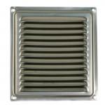 Решетка вент 150*150 стальная с покрытием П1515МЭ