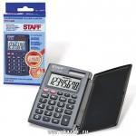 Калькулятор Карманный STF-6248 8 разрядов, 2-е питание, черный 250284 104*63мм
