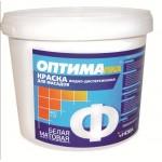 Краска фасадная ОПТИМА 14кг.