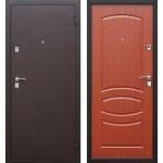 Дверь мет. Стройгост 7-2 (860L) левая Итальянский орех
