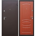 Дверь мет. Стройгост 7-2 (860R) правая Итальянский орех