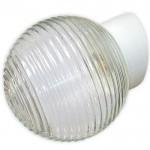 """Светильник НББ 62-009 А85 """"Кольца"""" шар стекло накл. осн."""