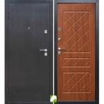 Дверь мет. Темный антик (860R) правая Ясень Шимо страндарт