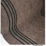Дорожка 1,0м Ковролин Синтелон стазе-урб SSSU1-711-100 коричневый (длина 21,5м)