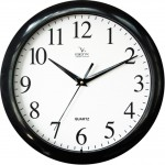 Часы настенные Vigor Д-29 классика в черном
