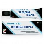 Клей для линолеума Homakoll S401 с иглой  60мл ( холоднпая сварка )