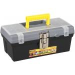 Ящик для инструмента 400*255*220 3 орган. с прозрач. кр