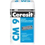 Клей для плитки Церезит 25 кг СМ9
