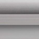 Бордюр декор 10мм 2,5 м анодированный серебро