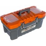 Ящик для инструмента 220*260*510мм с металл. защелками  STELS