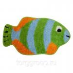 Коврик для ванной 42*75 см D013 рыбка