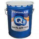 Эмаль ПФ-266 желто-коричневая  10кг FORMULA Q8