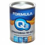 Грунт-эмаль по ржавчине  белая 1,9л/FORMULA Q8/6шт