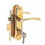 Ручка+замок LH 7036-891 PB золото