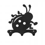 Вешалка листовая Букаш черный ВН305Ч