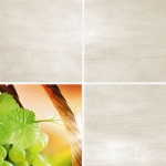 Кафель Алиготе (декор) зеленая 04-01-1-14-03-85-180-1 (200*200*7)