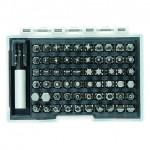 Набор бит с магнитным держателем 61шт. Matrix 11387