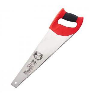 Ножовка по дереву,  450мм, 7-8TPI, двухкомпонен. рукоятка Matrix 23541