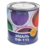 Эмаль ПФ-115 голубая 2,7кг/6шт Color
