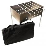 Мангал Стандарт 500*300*500мм (6шампуров) в сумке