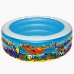 Бассейн детский 152*51см 400л Подводный мир
