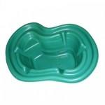 Пруд садовый пластиковый 140л. зеленый 2152349
