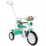 Велосипед 3-х колесный Малыш 09П зеленый 1398111