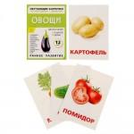 Обучающие карточки по методике Домана Овощи 1716780