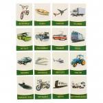 Обучающие карточки Транспорт 16шт. 1262701
