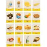 Обучающие карточки Продукты питания 16шт. 1262700