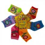 Носки детские Collorista Цветочки р.М возраст 1-2год 760075
