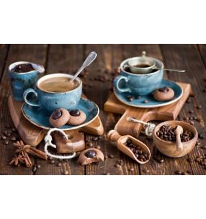 Салфетка сервировочная ПВХ 26*41см Кофе