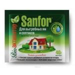Чистящее средство  Санфор 40 г. для выгребных ям и септиков