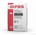 Шпатлевка GIFAS гипсовая универсал 25 кг