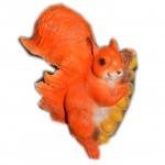 Фигурка садовая Белка желуди (22*22см)