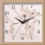 Часы настенные 28*28см пластик П-2А2,2-406