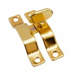 Завертка форточная золото