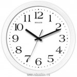 Часы настенные 24,5см пластик КЛАССИКА